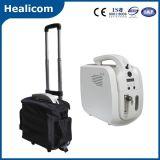 Mini concentratore portatile poco costoso dell'ossigeno Jay-1 con il sacchetto del carrello