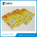 주문을 받아서 만들어진 디자인 PVC 카드 인쇄