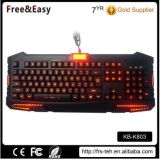 Tipo de fio OEM e tipo de interface USB Gaming Keyboard