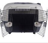 Boîte de chien cage en plastique pour les voyages