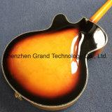 Двойные отверстия F 3 Пустотелых Джаз электрической гитаре с Tremolo системы (TJ-297)