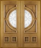 Solid pieno Wooden Door con Special Design