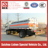 작은 Fuel Tanker Trucks 5000L 4*2 Capacity JAC Oil Truck Tank Vehicle