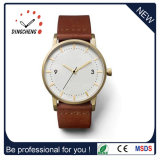 China reloj de pulsera correa de cuero de proveedor Dw-1079 Relojes (CC)