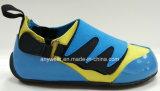 Дети спорта поддельные кожаные комфорт обувь детей обувь (816-6858)