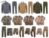 7 cores de caça rápida seca Camisas de combate amplo removível Camisas de calças