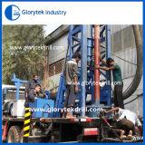 installatie van de Boring van 150m de Vrachtwagen Opgezette voor de Boring van de Put van het Water