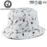 Cappello respirabile casuale della benna del cotone della protezione di 2016 modi con stampato