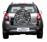 Универсальный водонепроницаемый чехол из натуральной кожи черного цвета пользовательских запасные шины легкового автомобиля крышка