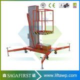 levage mobile d'homme d'alliage d'aluminium de 12m de plate-forme verticale de levage avec du ce