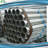 Tubo galvanizado soldado enrollado en el ejército del tubo de acero del andamio para la construcción de edificios