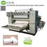 Full-Automatic Interfold Gesichts-Papier-Abschminktuch, das Maschinen-Hersteller bildet