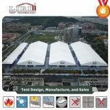 zijwanden van pvc van de Tent van de Tentoonstelling van 50m de Grote Auto Witte voor de OpenluchtPartij van de Tentoonstelling