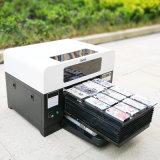 Impressora UV Flatbed do diodo emissor de luz A3 para o metal de vidro de madeira acrílico