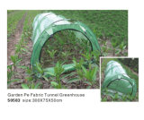 Tunnel de légumes du jardin serre avec couvercle Net