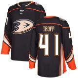 Anaheim Patos Stu Bickel Corey Tropp Chris Wagner Hockey camisolas
