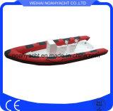 Сделано в шлюпке Rib640 корпуса стеклоткани Китая с PVC 0.9mm-1.2mm