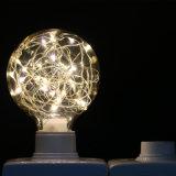 Iluminación estrellada blanca del bulbo del globo LED del nuevo diseño para la decoración