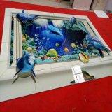 Automatique de la tuile de céramique//verre acrylique vernis UV Ligne de Production de revêtement
