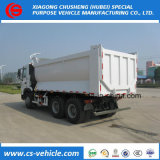 Sinotruk HOWO LHD 371HP 40ton 쓰레기꾼 트럭 사용된 덤프 트럭