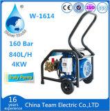 Máquina de chorro de agua de alta presión con bomba de chorro de agua