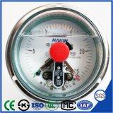 De elektrische Manometer van de Maat van de Druk van de Trilling van het Contact Bestand met Achtergevel Fronge