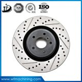 Rotor dúctil del disco del freno del hierro del hierro gris de la arena de la precisión del OEM