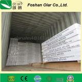 Installation interne de plafond en fibre de ciment