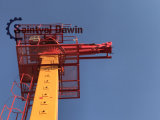 [29م] [32م] [33م] يشبع هيدروليّة نفس [جك] فوق برج خرسانة يضع إزدهار مع [رإكسروث] صمام وتركيبات