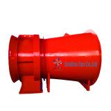 Mina de carvão Explosion-Proof Contra-Rotating Escape Ventilador principal Axial para uso subterrâneo