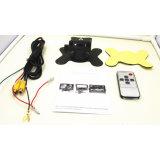 7 pouces moniteur LCD TFT de voiture pour la voiture de sauvegarde de la vue arrière