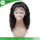 Bout grand de qualité de perruque de cheveux humains de Vierge 2 ans de plus