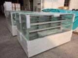 Casse di visualizzazione refrigerate marmo commerciale della torta del forno di alta qualità