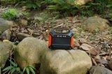 Portable système générateur d'énergie solaire en plein air avec 155Wh 100W AC/DC/sorties USB