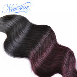 Пачка объемной волны волос девственницы Ombre новой звезды бразильская
