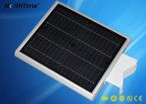 Lumière solaire semi-compacte avec détecteur de mouvement pour la fixation externe