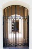 Handcrafted двери ковки чугуна одиночные