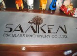 SKS-1500 CE Glass arena de voladura de la máquina de chorro de arena