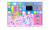 Los niños 2016 del tema del caramelo utilizaron el diseño libre del patio de interior del equipo para la venta caliente