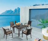 Toda a venda de mobiliário de jardim exterior com cadeira empilhável e Kd Tabela (Yta362-1&no ano020-10