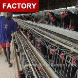 Горячая гальванизированная автоматическая клетка цыпленка для растущий бройлеров и курочок