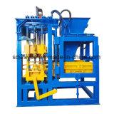 Mattone Qt4-20/blocco concreti semi automatici che fa macchina