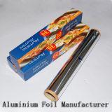 ロールTyp 7ミクロンのアルミニウム世帯ホイルロールスロイス