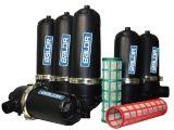 Le FBS080t t forme ferme/ système d'eau du filtre à sable filtre de l'Aquarium de l'écran