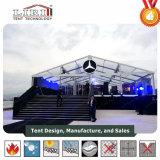 20X20m販売のための透過ファブリック結婚披露宴のおおいのテント