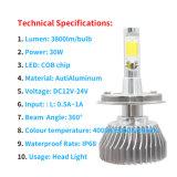 최고 밝은 3800lm 옥수수 속 차 LED 헤드라이트 Fome 도매가 LED 빛과 LED 바 빛을%s 가진 공장