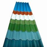 Hoja de techado de acero con recubrimiento de color