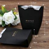 День рождения Свадебное, Свадебный подарок мешки Brithday и душ сторона бумаги подарочная упаковка (черный)