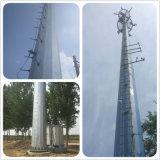 Tubo de acero galvanizado de la torre de antena de telecomunicaciones