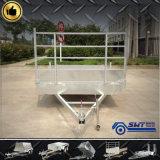 De Vlakke Aanhangwagen van uitstekende kwaliteit van de Vrachtwagen met LEIDEN Achterlicht